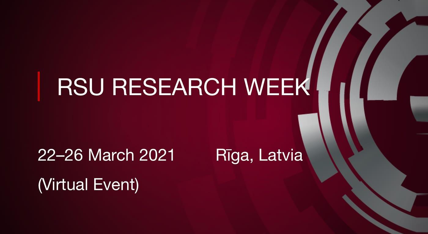 RSU RESEARCH WEEK