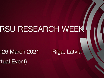RSU RESEARCH WEEK